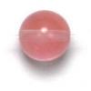 Semi-Precious 6mm Round Reconstructed Cherry Quartz